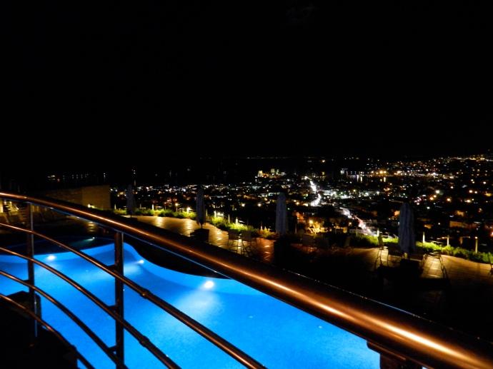 Vista do Tuti Restaurant, no The Marmara Hotel