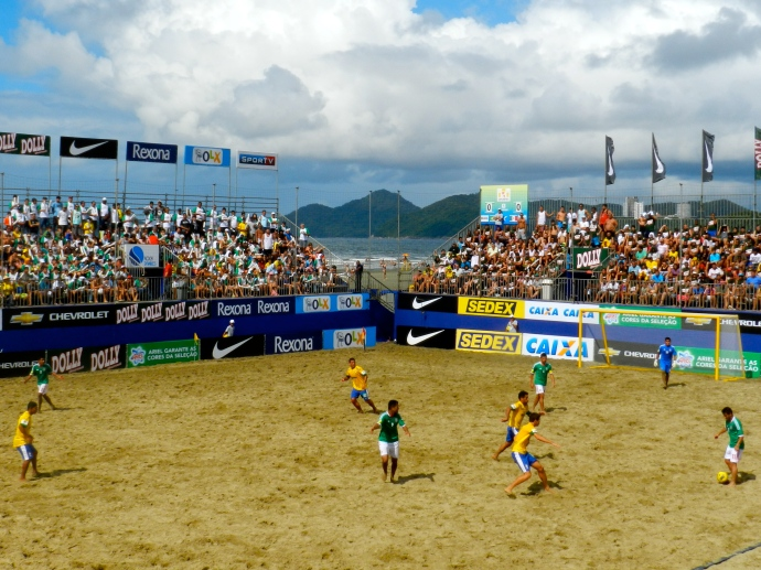 Arena - Praia do Gonzaga - Santos/SP