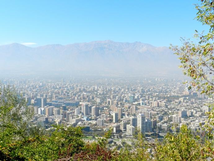 Santiago do Chile, meu destino escolhido para passar a Semana Santa em 2012