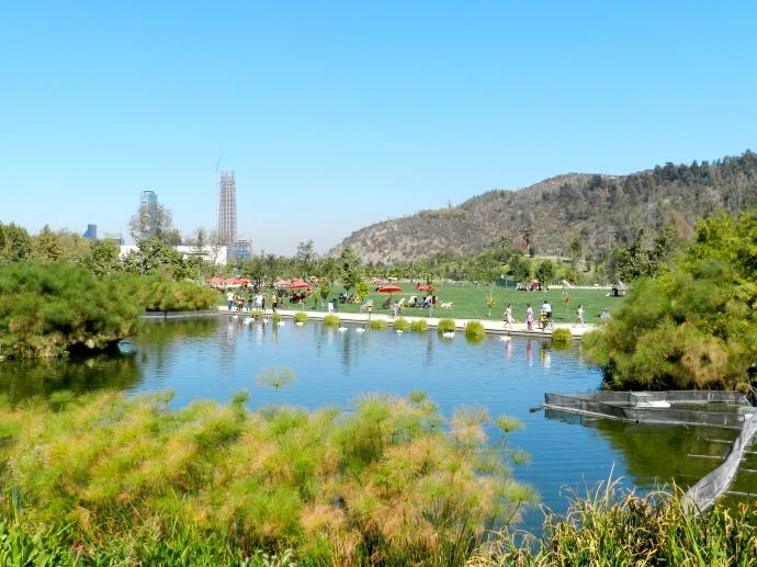 Parque Bicentenário - Santigo do Chile | Parques são ótimas opções para curtir o feriado da Semana Santa!