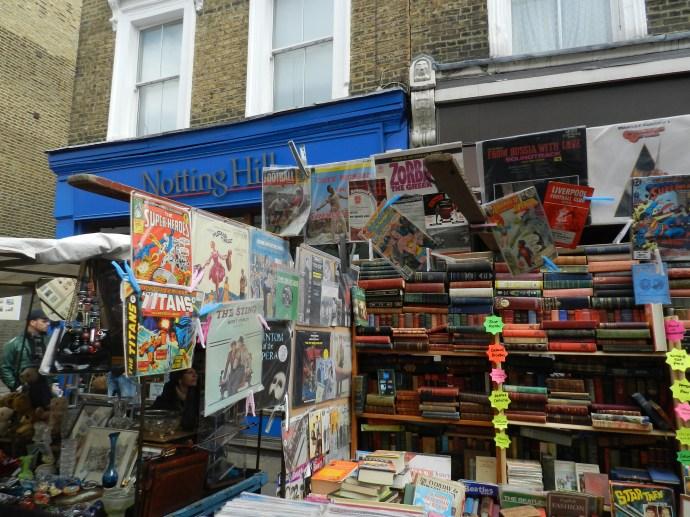 """Livraria em Portobello Road retratada no filme """"Um lugar chamado Notting Hill"""""""