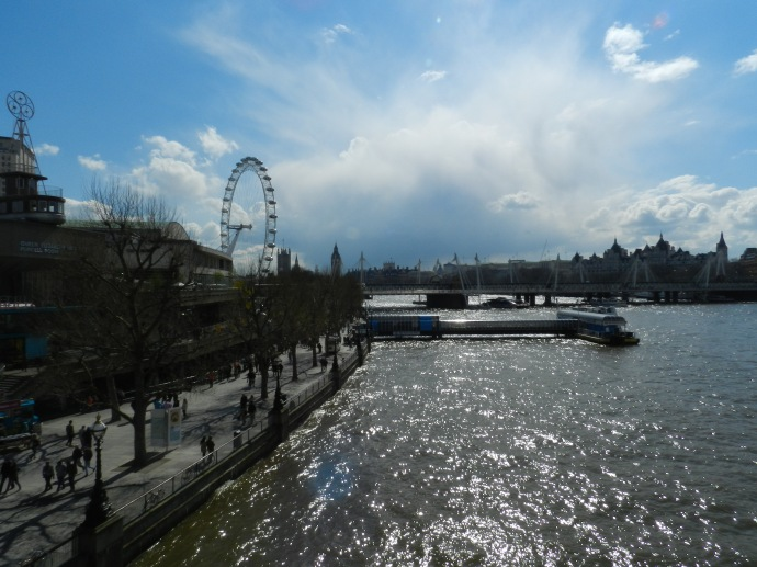 Vista da Waterloo Bridge